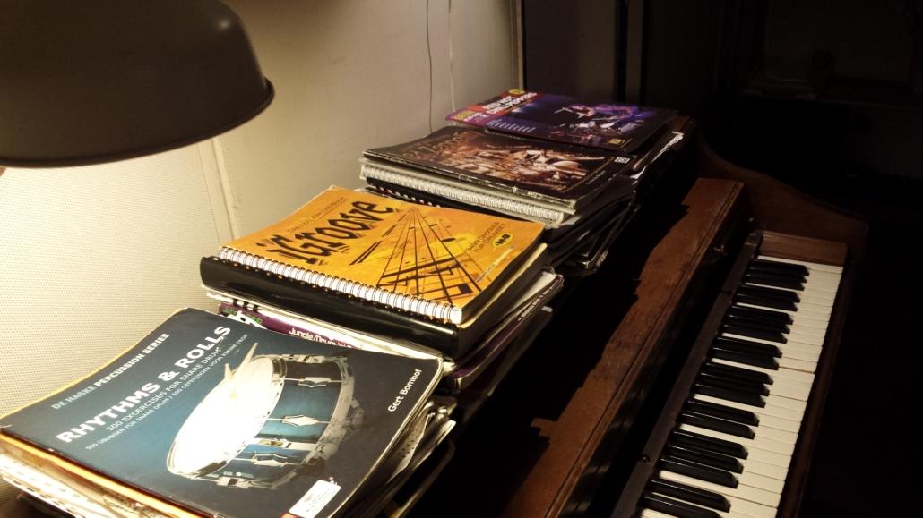 oefenboeken piano drumstudio utrecht drumles utrecht Drumworldutrecht