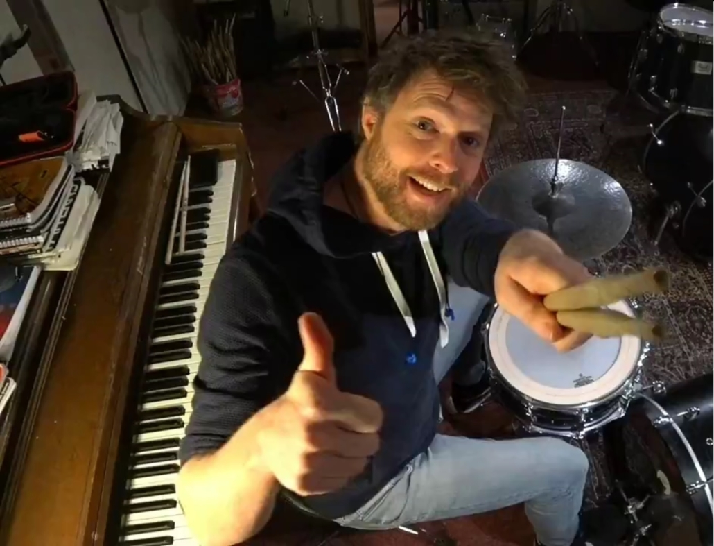 Drummer Daan Vroon